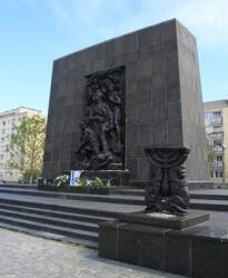 Varsovia (Monumento Levantamiento Gueto)