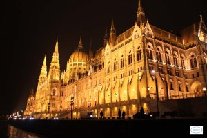 Parlamento, vista nocturna