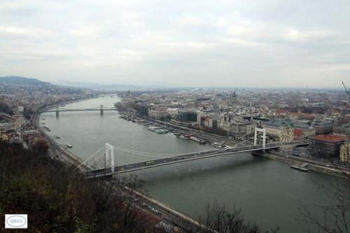 Vista desde el Monte Géllert