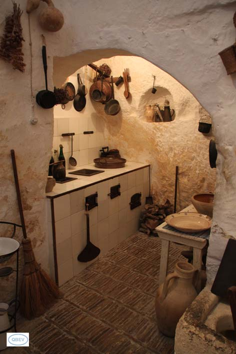 Cocina Sassi de Matera
