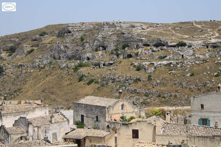Cuevas en Matera