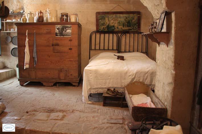 Habitación Sassi de Matera