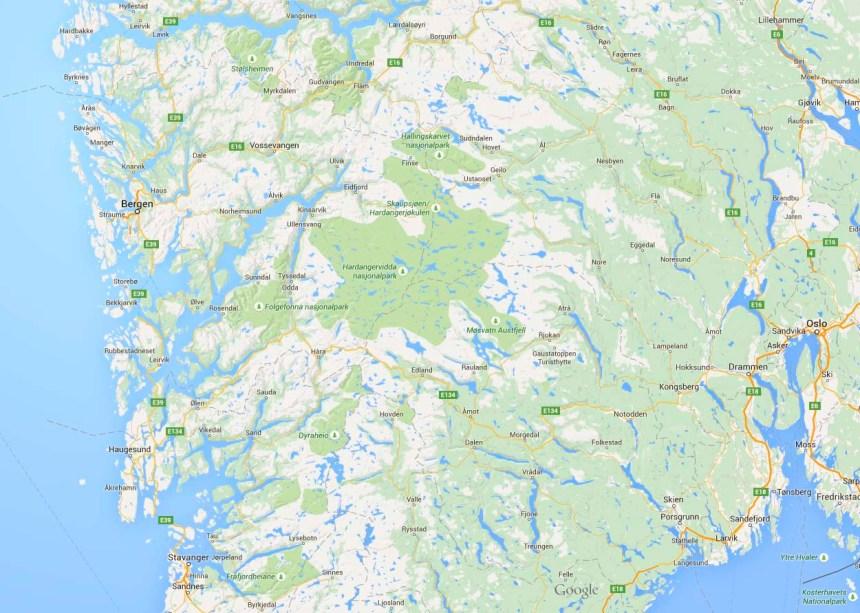 Mapa Viaje