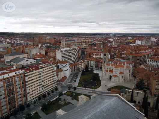 Catedral Valladolid vista torre 1