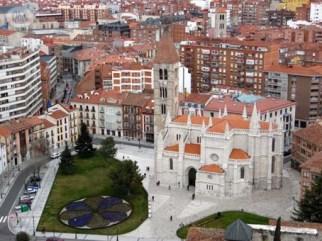 Catedral Valladolid vista torre 2