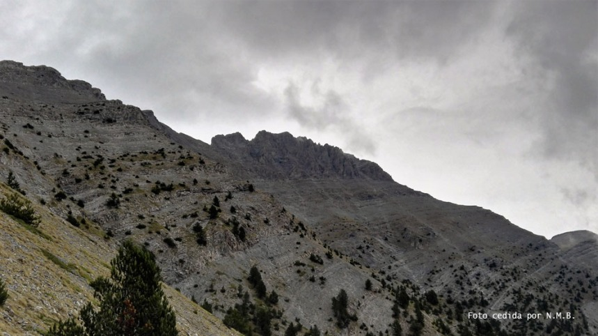 Vista del Mytikas