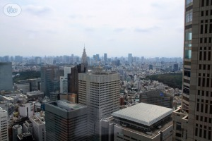 Panorámica Tokio desde Ayuntamiento