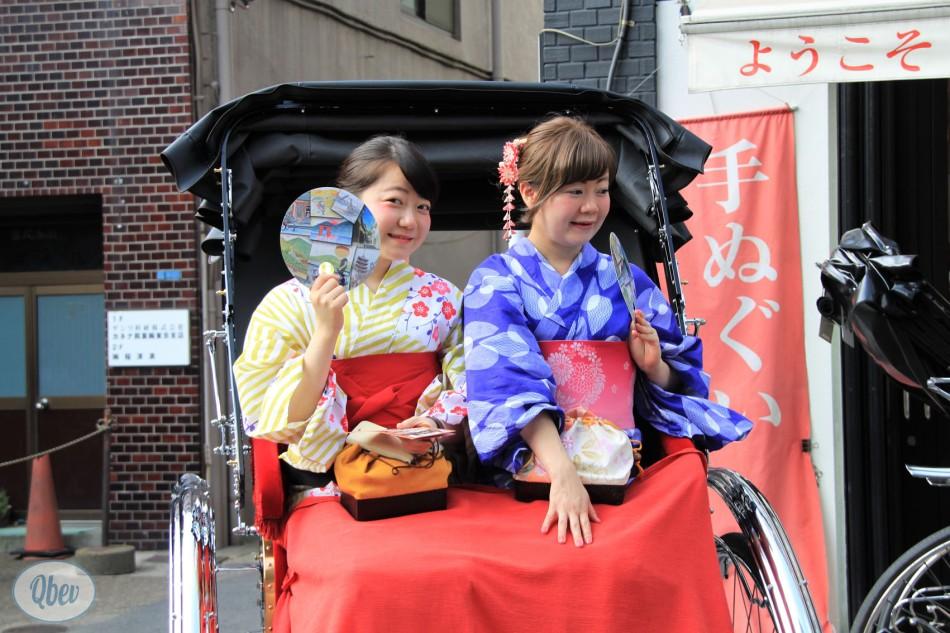 vestidas geishas tokio