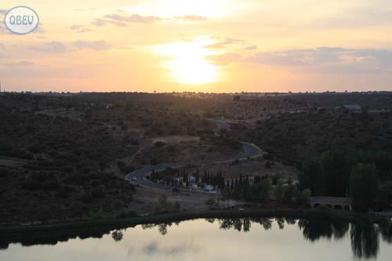 Puesta de sol Ruidera