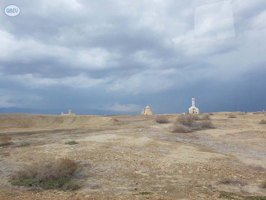 templos cerca del río jordán